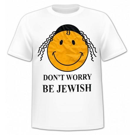 Футболка Don't Worry, Be Jewish
