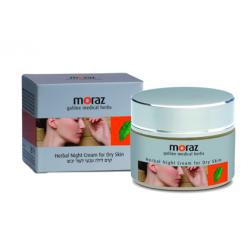 Ночной крем для сухой кожи лица Moraz