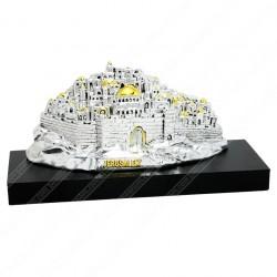 Макет панорама Иерусалима с посеребрением