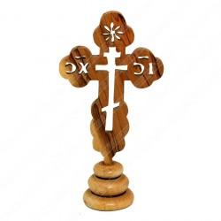 Православный настольный крест из оливкового дерева