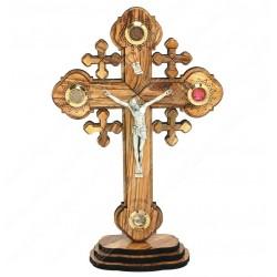 Крест с распятием на подставке