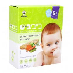 Детское рисовое печенье Baby Bites овощное 6+