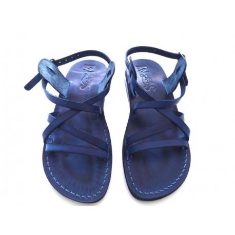 Библейские сандалии из натуральной кожи