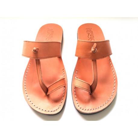 Женские иерусалимские сандалии из натуральной кожи