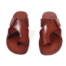 Мужские иерусалимские сандалии из натуральной кожи «Родос»