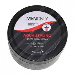 Мужской гель для укладки волос на основе черной икры Mon Platin Professional