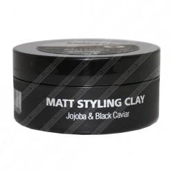 Мужской гель для укладки волос сильной фиксации на основе черной икры и жожоба Mon Platin Professional