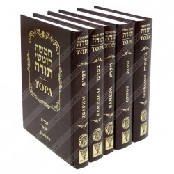 Пятикнижие Моисеево или Тора. Подарочное издание. Комплект из 5 книг