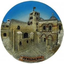 Тарелка Храм Гроба Господня 3D