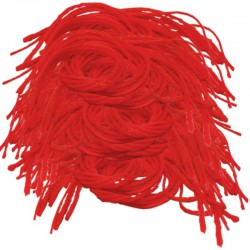 Оптовый лот 200 красных нитей