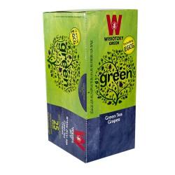 """Зеленый чай с виноградом """"Wissotzky"""" 25 пакетиков"""