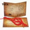 Комплект из 5-ти Красных нитей Иерусалима от Стены Плача