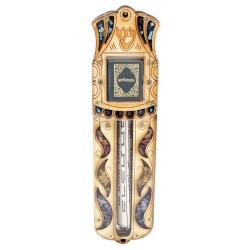 деревянная мезуза с молитвой