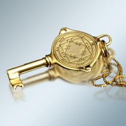 Кулон - Печать Победителя + цепочка (покрытие золото 24к)