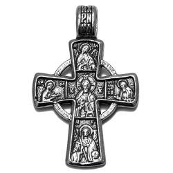 Нательный крест из Иерусалима (серебро 925 пр.) Освящен в Храме