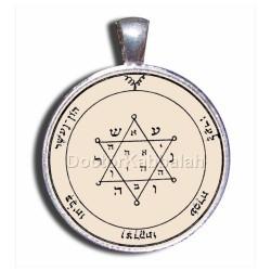 Печать Душевного равновесия (Вторая печать Юпитера) серебро 925 пр. пергамент
