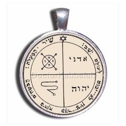 Печать от Сглаза (Третья печать Юпитера) серебро 925 пр. пергамент