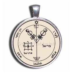 Печать Благополучия (Четвертая печать Юпитера) серебро 925 пр. пергамент