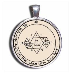 Печать Прозрения (Пятая печать Юпитера) серебро 925 пр. пергамент