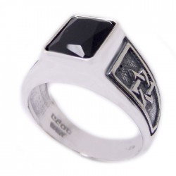Серебряный перстень Талисман Каббалы