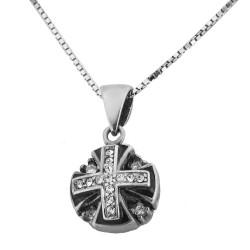 Иерусалимский крестик (серебро 925 пр.). Освящен в Храме