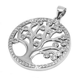 Амулет Древо жизни серебро