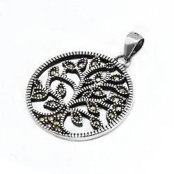 Кулон Древо жизни серебро