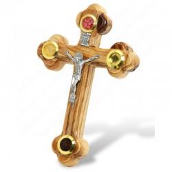 Освященный Деревянный Крест из Иерусалима (14 см.)