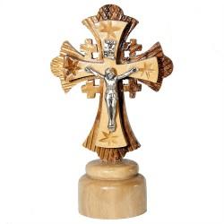 Освященный Православный Крест с распятием (10 см.)