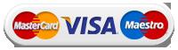 Оплата MasterCard/Maestro/VISA